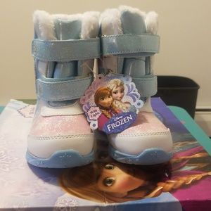 Disney Frozen toddler girl snow boots
